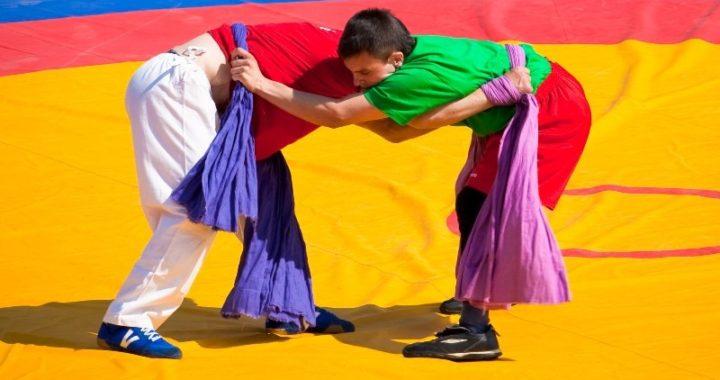 На Московском онлайн-Сабантуе-2020 пройдёт турнир по татарской борьбе Корэш