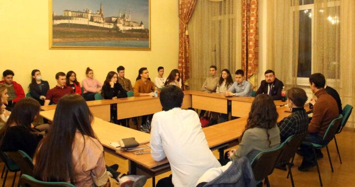 Встреча татарских студентов Москвы
